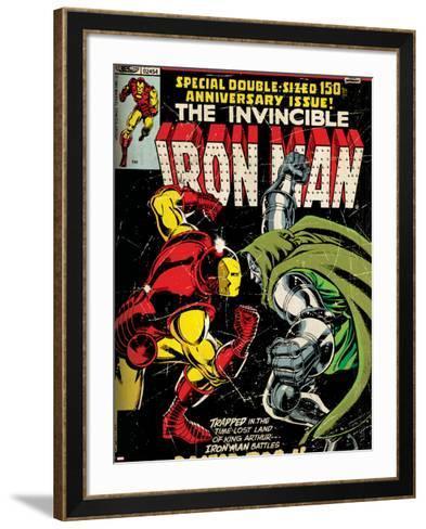 Comics - Marvel Comics Iron Man--Framed Art Print