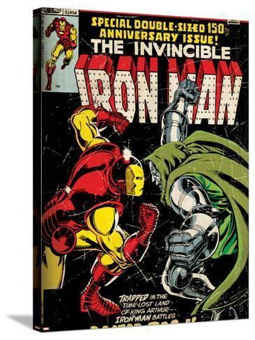 Comics - Marvel Comics Iron Man--Stretched Canvas Print