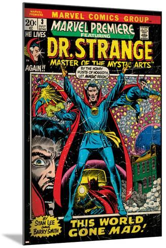 Marvel Comics Retro Style Guide: Dr. Strange--Mounted Art Print