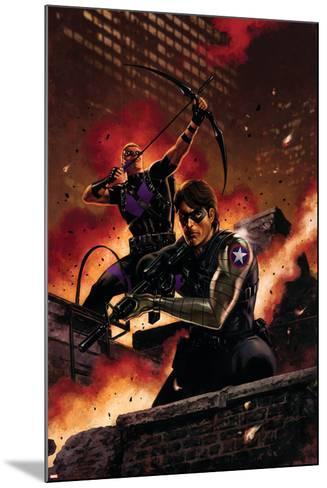 Winter Soldier No. 11: Winter Soldier, Hawkeye--Mounted Art Print