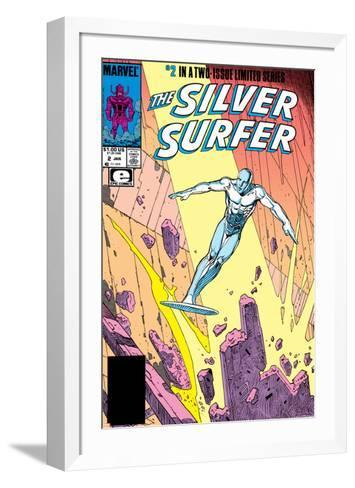 Silver Surfer By Stan Lee and Moebius No. 1: Silver Surfer--Framed Art Print