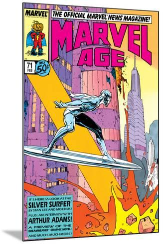 Silver Surfer By Stan Lee and Moebius No. 1: Silver Surfer--Mounted Art Print