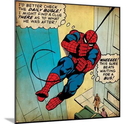 Marvel Comics Retro Style Guide: Spider-Man--Mounted Art Print