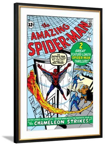 Amazing Spider-Man No.1 Cover: Spider-Man-Steve Ditko-Framed Art Print