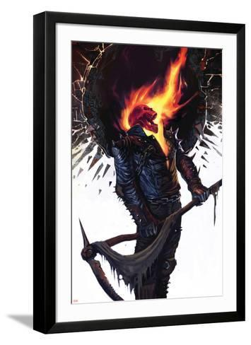 Ghost Rider No.22 Cover: Ghost Rider--Framed Art Print