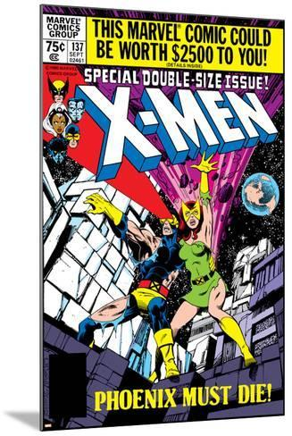 X-Men No.137 Cover: Cyclops, Grey and Jean-John Byrne-Mounted Art Print