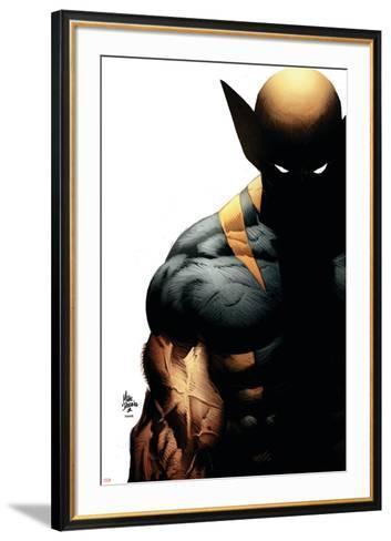 Wolverine: Origins No.28 Cover: Wolverine-Mike Deodato-Framed Art Print