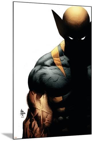 Wolverine: Origins No.28 Cover: Wolverine-Mike Deodato-Mounted Art Print