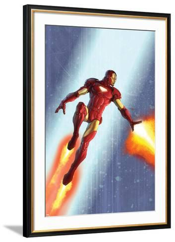 Iron Man & The Armor Wars No.3 Cover: Iron Man-Francis Tsai-Framed Art Print