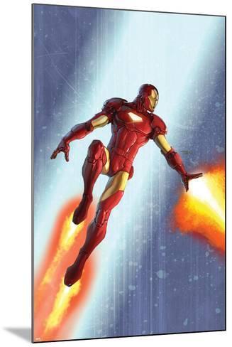 Iron Man & The Armor Wars No.3 Cover: Iron Man-Francis Tsai-Mounted Art Print