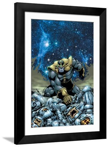Thanos No.4 Cover: Thanos-Jim Starlin-Framed Art Print