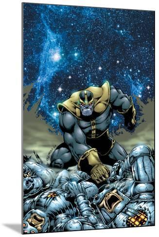 Thanos No.4 Cover: Thanos-Jim Starlin-Mounted Art Print