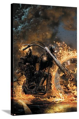 Ghost Rider No.1 Cover: Ghost Rider--Stretched Canvas Print