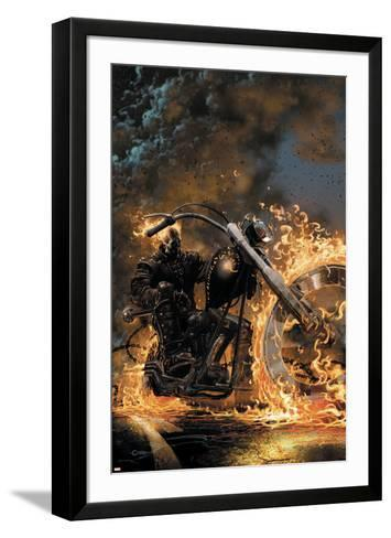 Ghost Rider No.1 Cover: Ghost Rider--Framed Art Print