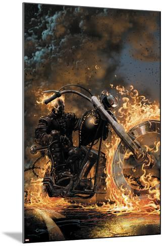 Ghost Rider No.1 Cover: Ghost Rider--Mounted Art Print