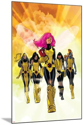 X-Men: Pixie Strikes Back No.1 Cover: Pixie, X-23, Blindfold, Armor and Mercury-Stuart Immonen-Mounted Art Print