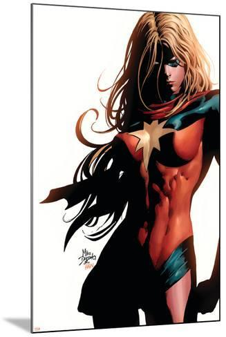 Ms. Marvel No.39 Cover: Ms. Marvel-Mike Deodato-Mounted Art Print