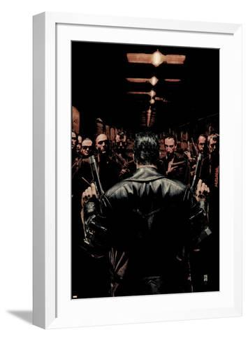 Punisher No.6 Cover: Punisher-Tim Bradstreet-Framed Art Print