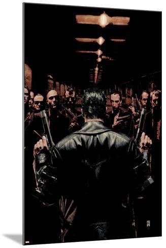 Punisher No.6 Cover: Punisher-Tim Bradstreet-Mounted Art Print