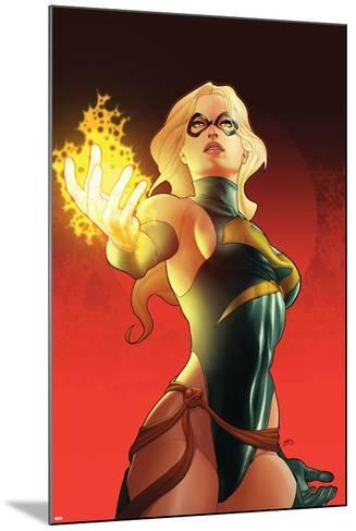 Ms. Marvel No.31 Cover: Ms. Marvel--Mounted Art Print