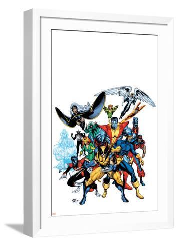 Marvel Legends: Arthur Adams TPB Cover: Wolverine-Arthur Adams-Framed Art Print