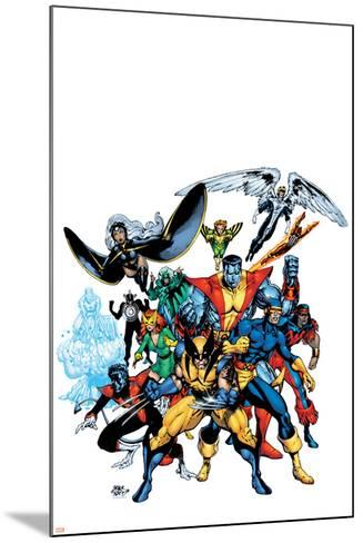 Marvel Legends: Arthur Adams TPB Cover: Wolverine-Arthur Adams-Mounted Art Print