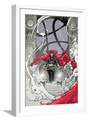 Doctor Strange: From the Marvel Vault No.1 Cover: Dr. Strange-Mario Alberti-Framed Art Print