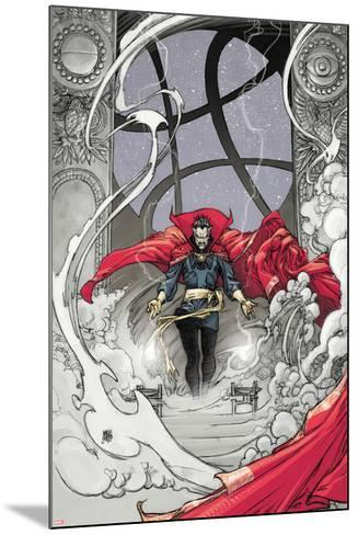 Doctor Strange: From the Marvel Vault No.1 Cover: Dr. Strange-Mario Alberti-Mounted Art Print