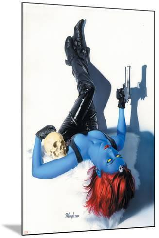 Mystique No.9 Cover: Mystique--Mounted Art Print