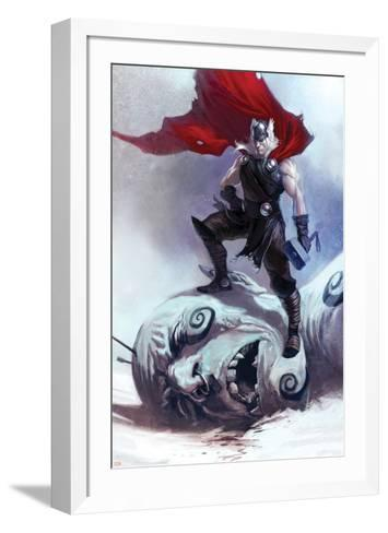 Thor: Ages Of Thunder No.1 Cover: Thor--Framed Art Print