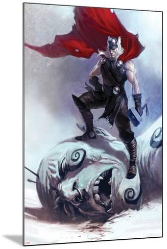 Thor: Ages Of Thunder No.1 Cover: Thor--Mounted Art Print