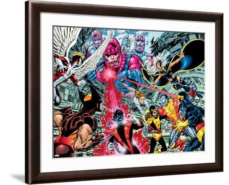 X-Men : Days Of Future Past Wrap Cover Cover: Wolverine-John Byrne-Framed Art Print