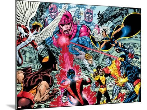 X-Men : Days Of Future Past Wrap Cover Cover: Wolverine-John Byrne-Mounted Art Print