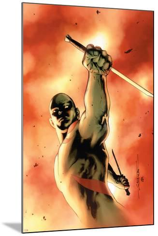Drax The Destroyer No.3 Cover: Drax The Destroyer Fighting-Mitchell Breitweiser-Mounted Art Print