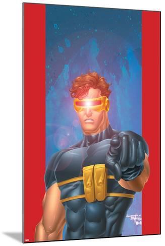Ultimate X-Men No.1/2 Cover: Cyclops-Aaron Lopresti-Mounted Art Print