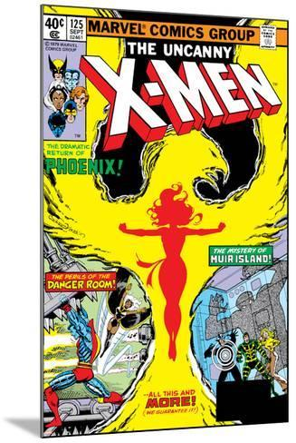 Uncanny X-Men No.125 Cover: Phoenix, Colossus, Storm, Madrox and Havok-John Byrne-Mounted Art Print
