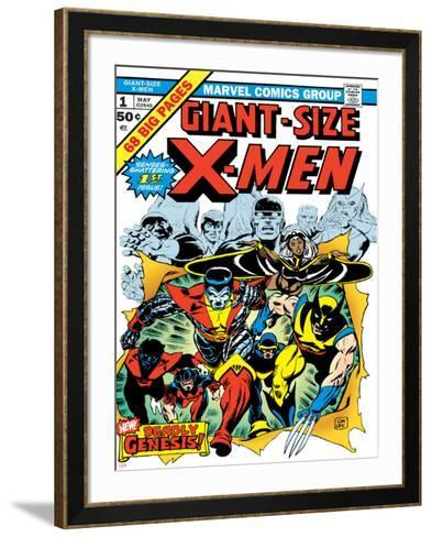 Marvel Comics Retro: The X-Men Comic Book Cover No.1--Framed Art Print