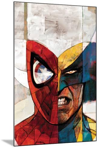 Moon Knight No.5 Cover: Spider-Man and Wolverine-Alex Maleev-Mounted Art Print