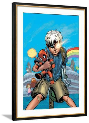 Cable/Deadpool No.18 Cover: Cable-Patrick Zircher-Framed Art Print