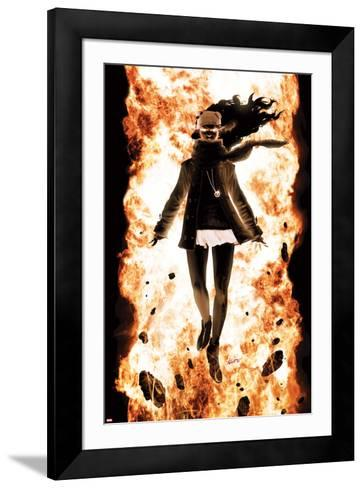 Ultimate Comics X-Men No.8 Cover: Jean Gray-Kaare Andrews-Framed Art Print