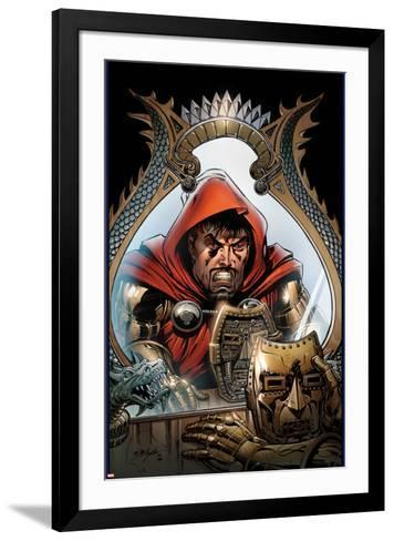 What If? Iron Man: Demon in an Armor No.1 Cover: Tony Stark Standing-Bob Layton-Framed Art Print