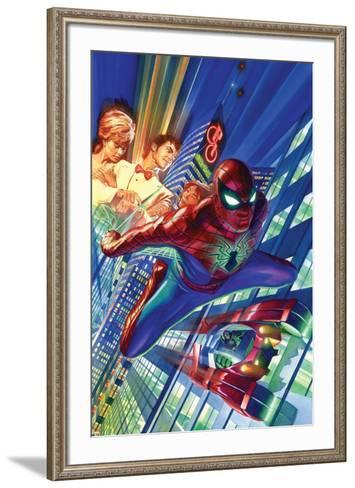 Amazing Spider-Man #1 Cover-Alex Ross-Framed Art Print