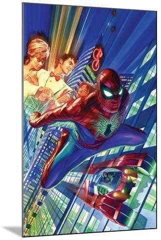 Amazing Spider-Man #1 Cover-Alex Ross-Mounted Art Print