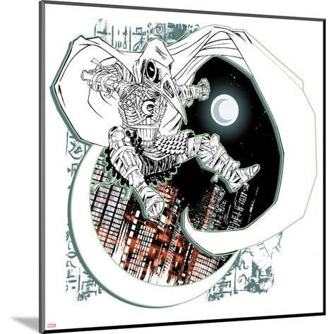 Marvel Knights Presents: Moon Knight--Mounted Art Print