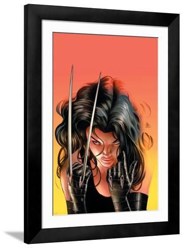 Avengers Arena #14 Cover: X-23-Mike Deodato-Framed Art Print