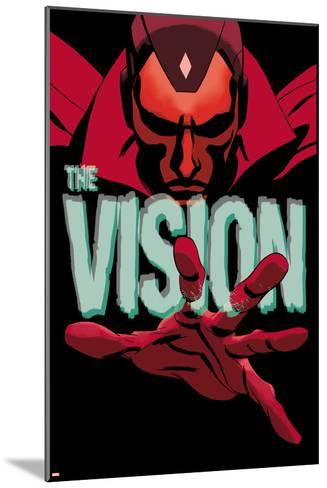 Vision #1 Cover-Marcos Martin-Mounted Art Print