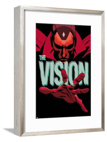 Vision #1 Cover-Marcos Martin-Framed Art Print