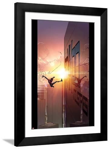 Ultimate Comics Spider-Man #27 Cover: Spider-Man-David Marquez-Framed Art Print