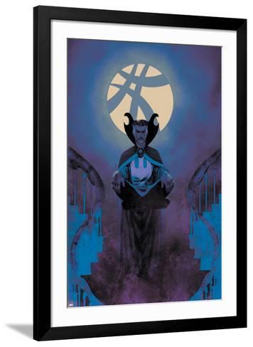 Uncanny X-Men #7 Featuring Dr. Strange-Frazer Irving-Framed Art Print