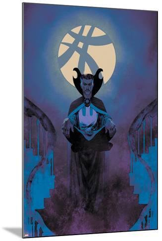 Uncanny X-Men #7 Featuring Dr. Strange-Frazer Irving-Mounted Art Print